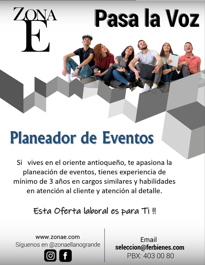 planeador de eventos  u2013 link empleo